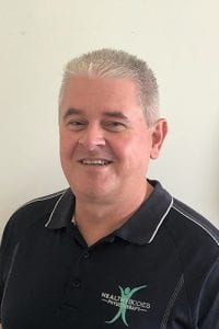 Peter Mitchell, a remedial/sports massage therapist at Healthy Bodies Physiotherapy in Cheltenham