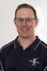 High quality image of Chris Seville, a qualified physiotherapist at Healthy Bodies Physiotherapy