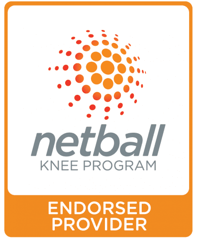 Netball Knee Program Endorsed Provider logo